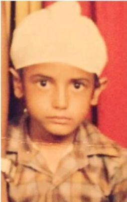 Gippy Grewal's childhood picture