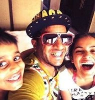 Jazzy B with his kids