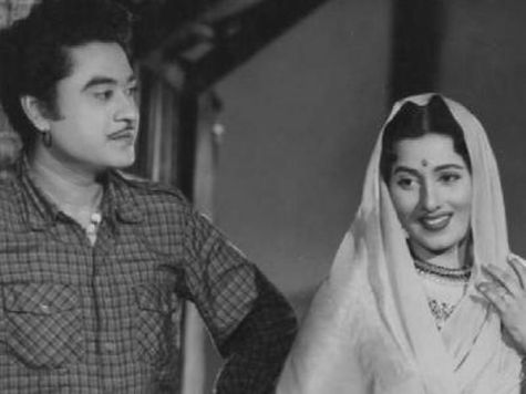 Kishore Kumar With His Second Wife, Madhubala