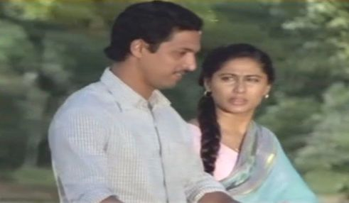 Nana Patekar With Smita PatilNana Patekar With Smita Patil