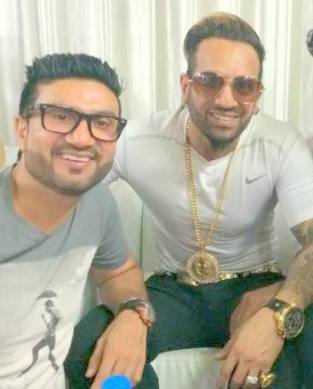 Preet Harpal with Jazzy B