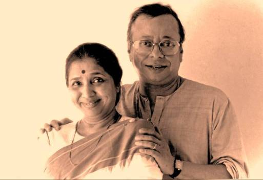 R. D. Burman And Asha Bhosle