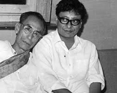 R. D. Burman With His Father S. D. Burman