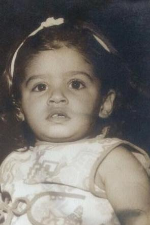 Raveena Tandon As A Child