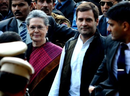 Sonia Gandhi And Rahul Gandhi Arrive In Court For The National Herald Case