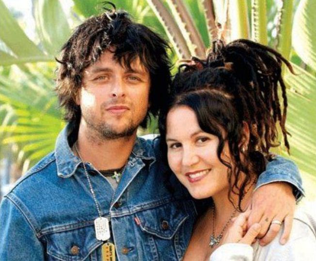 Billie Joe Armstrong With Wife Adrienne Nesser