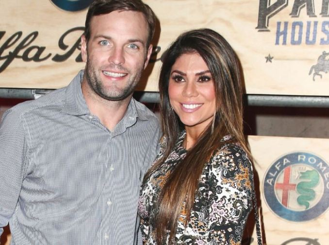 Wes Welker With Wife Anna Burns