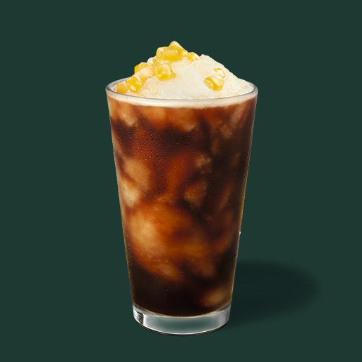 Starbucks 星巴克 》 新口味上市!金色鳳梨冷萃咖啡【期間限定】