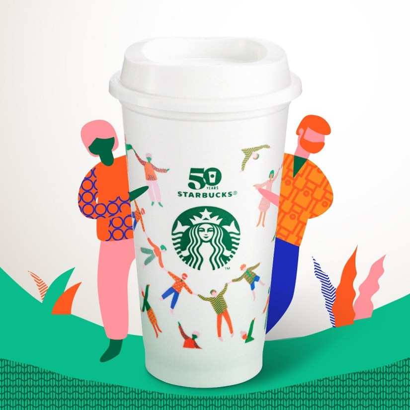 Starbucks 星巴克 》【Reusable Cup Day】TOGETHER FOR BETTER【2021/9/28 當日】