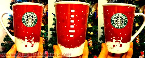 Starbucks Coffee 2007 Christmas Mug