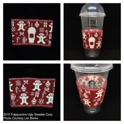 6002 2015 Frappuccino Ugly Sweater Cozy