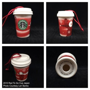 Starbucks Ornament Red Cup