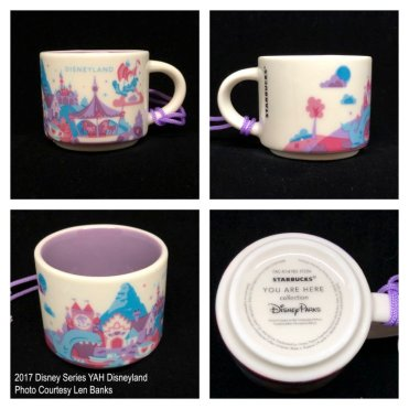 2017 Disney Series YAH Disneyland Starbucks Ornament