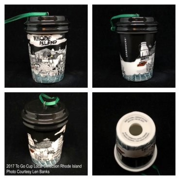 2017 To Go Cup Local Collection Rhode Island Starbucks Ornament