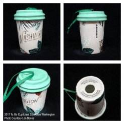 2017 To Go Cup Local Collection Washington Starbucks Ornament
