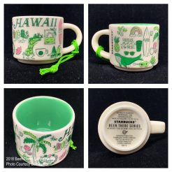 2018 Been There Series Hawaii Starbucks Ornament