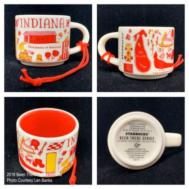 2018 Been There Series Indiana Starbucks Ornament
