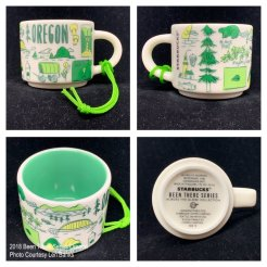 2018 Been There Series Oregon Starbucks Ornament