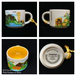 2018 You Are Here Puer Starbucks Ornament