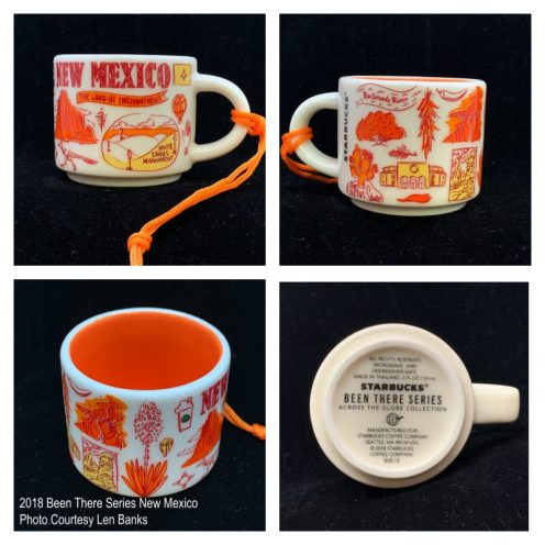 2018 Been There Series New Mexico Starbucks Ornament