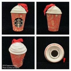 2018 Frappuccino Cup Starbucks Ornament
