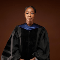 THIS WOMAN WAS THE FIRST IN HER FAMILY TO LEARN HOW TO READ; NOW SHE HAS A LAW DEGREE