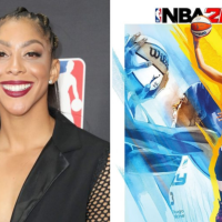 CANDACE PARKER MAKES HISTORY AS FIRST WNBA PLAYER TO BE FEATURED ON THE NBA 2K GAME COVER