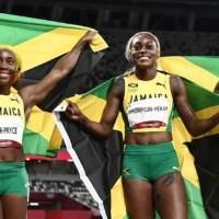 Meet the 3 Fastest Women in the World, Team Jamaica – Clean Sweep!