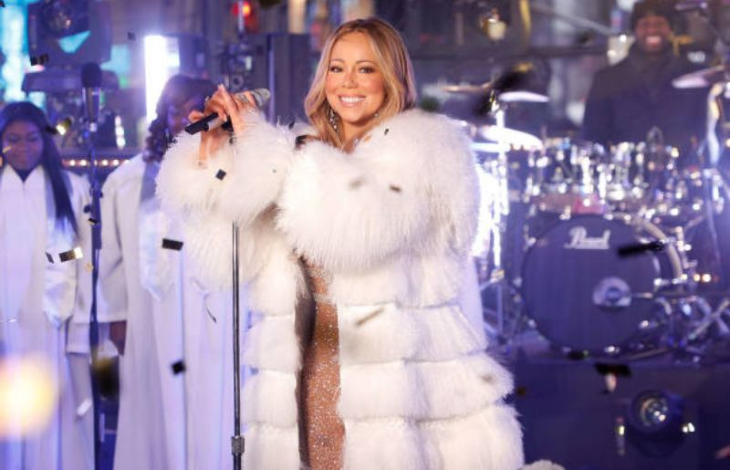 Mariah Carey Image at Dick Clark's New Year's Rockin' Eve with Ryan Seacrest 2018