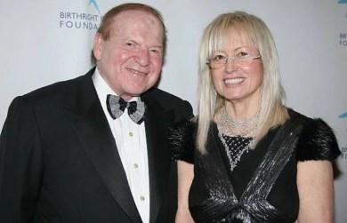Miriam Adelson gala dinner image