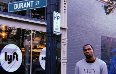 Kevin Durant at the Oakland