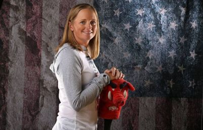 Stacy Lewis at the usa media summit