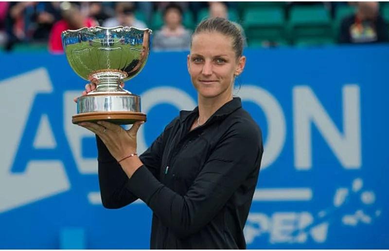 Karolina Pliskova WTA Aegon Open Nottingham - Day 7