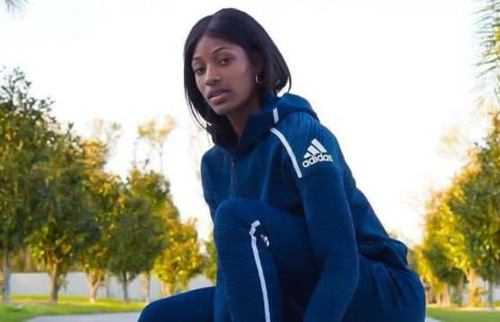Shaunae Miller-Uibo in adidas paid partnership events