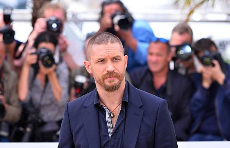 Tom Hardy at 68th Cannes Film Festival - Mad Max: Fury Road photocall