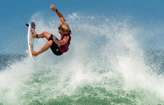 John John Florence pro surfing