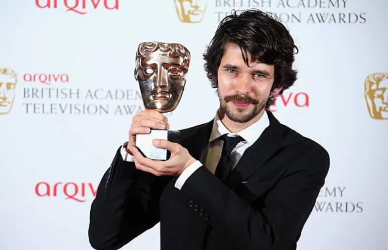 Ben Whishaw at Arqiva British Academy Television Awards 2013