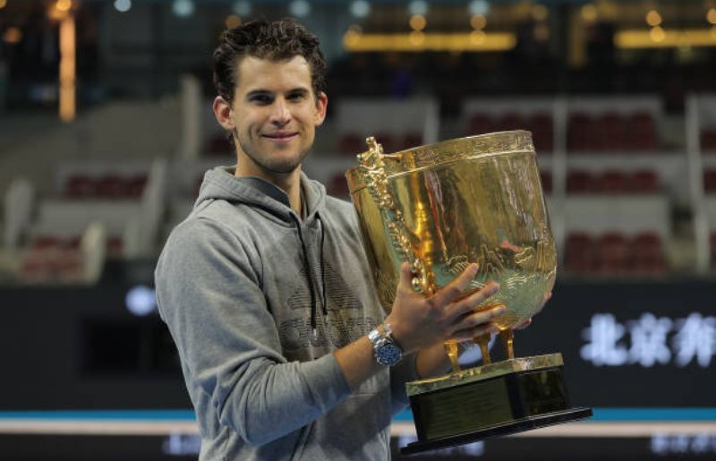 Dominic Thiem at 2019 China Open - Day 9 (Finals)