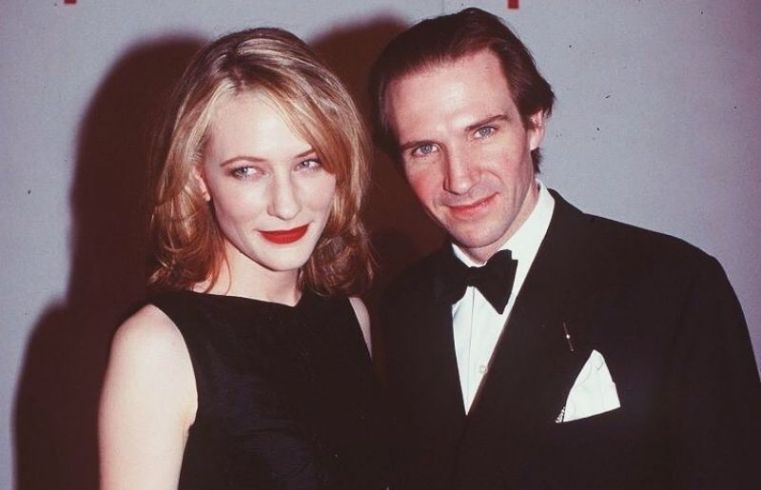 Ralph Fiennes in a award function