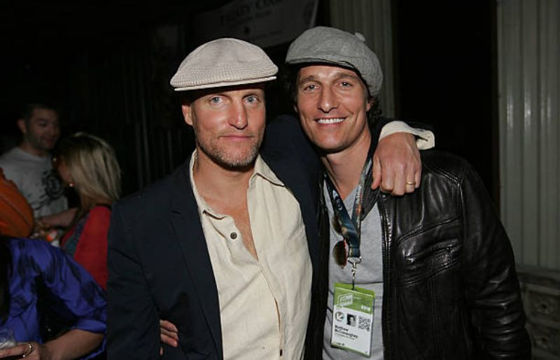 Woody Harrelson at Bliss Lounge Hosted By Blues Traveler Frontman John Popper To.