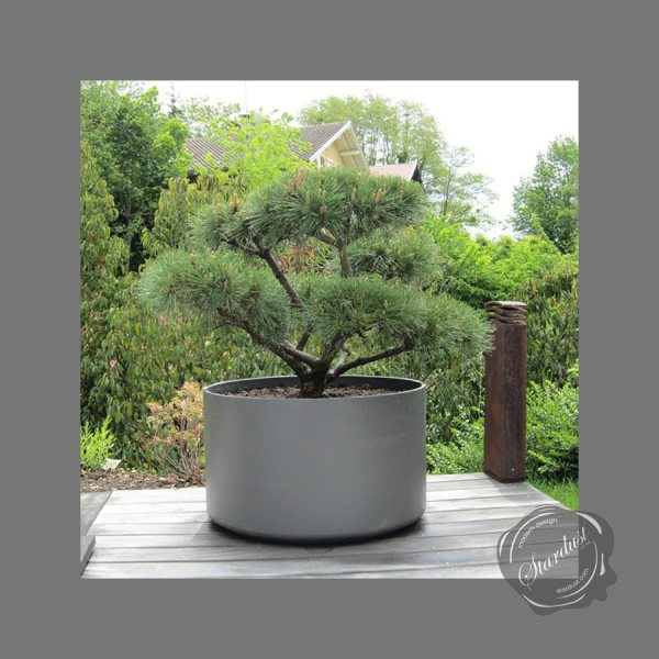 Extra Large Round Outdoor Planter Pot 30  Diameter   Stardust Extra Large Round Outdoor Planter