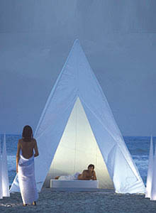 Gandia Blasco Modern Tipi Teepee Wigwam Outdoor Tent Extra Large Size Stardust