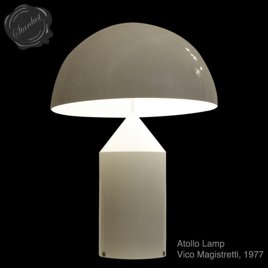 Oluce Atollo 233 Table Lamp By Vico Magistretti Stardust