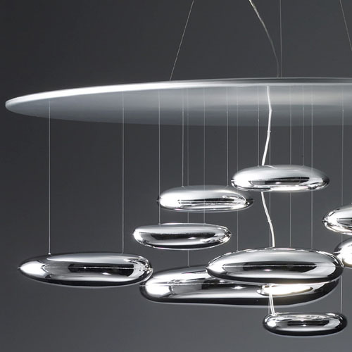 Artemide Mercury Suspension Lamp By Ross Lovegrove Stardust