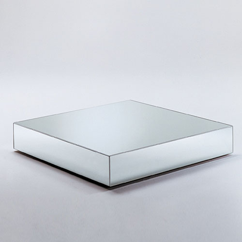 glas italia i massi mirrored glass coffee table