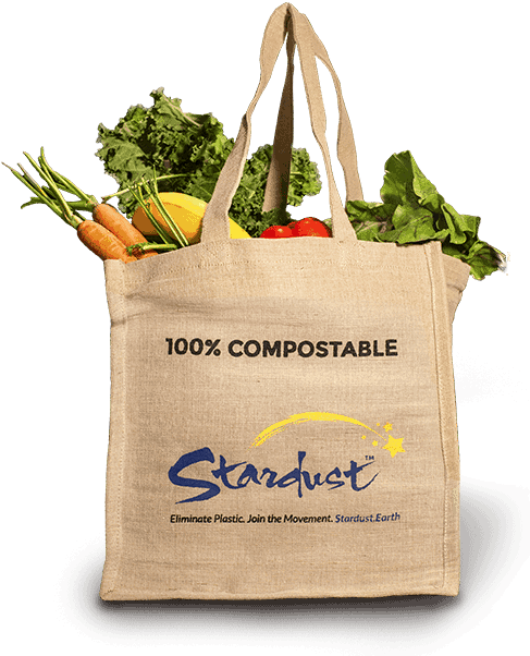 Stardust Compostable Jute Bag