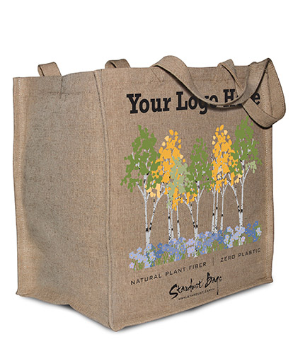 Custom Stardust compostable bags