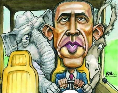 Ambasada SUA a publicat o caricatura cu Obama
