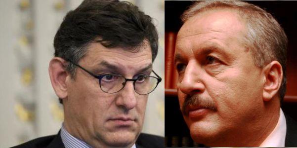 Oamenii forte ai noului guvern: Costin Borc şi Vasile Dîncu