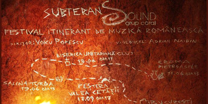 Corul Sound concertează în Subteran, la Pietroasele